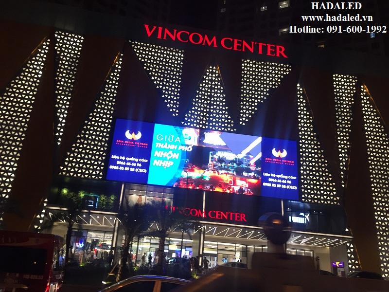 Giải pháp chiếu sáng mặt đứng trung tâm thương mại 2