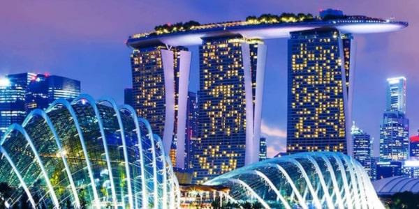 chiếu sáng trang trí tòa nhà
